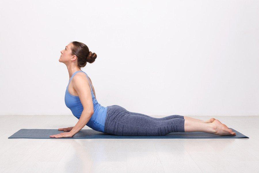 Cobra yoga posture